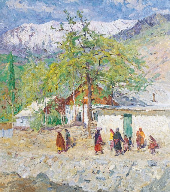Sergey Mikhaylovich Skubko, 'Mountain school', 1975, Surikov Foundation