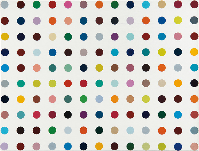 Damien Hirst, 'N-Hydroxymaleimide', 2010, Painting, Household gloss on canvas, Phillips