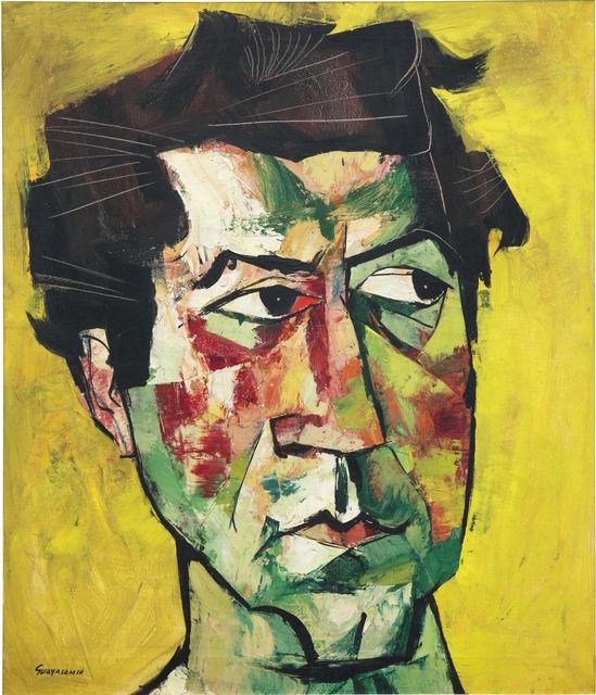 Oswaldo Guayasamín, 'Eddy Novarro', 1963, Painting, Oil on canvas, Odalys