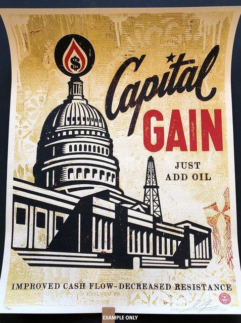 Shepard Fairey, 'Capital Gain', 2015, Black Book Gallery