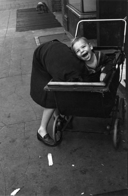 Helen Levitt, 'N.Y.C. (baby carriage)', ca. 1940, Laurence Miller Gallery