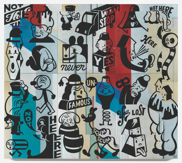Gary Taxali, 'Can We Stop', 2015, Galerie Matthew Namour