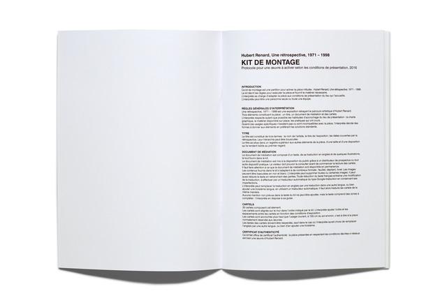, 'Kit de montage and Revue de presse.,' 2017, mfc - michèle didier