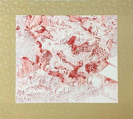 , 'Real/Red drawing #1,' 2004, Gallery OUT of PLACE