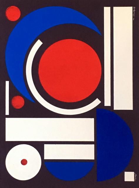 Auguste Herbin, '1950s Auguste Herbin Serigraph', 1954, Lot 180