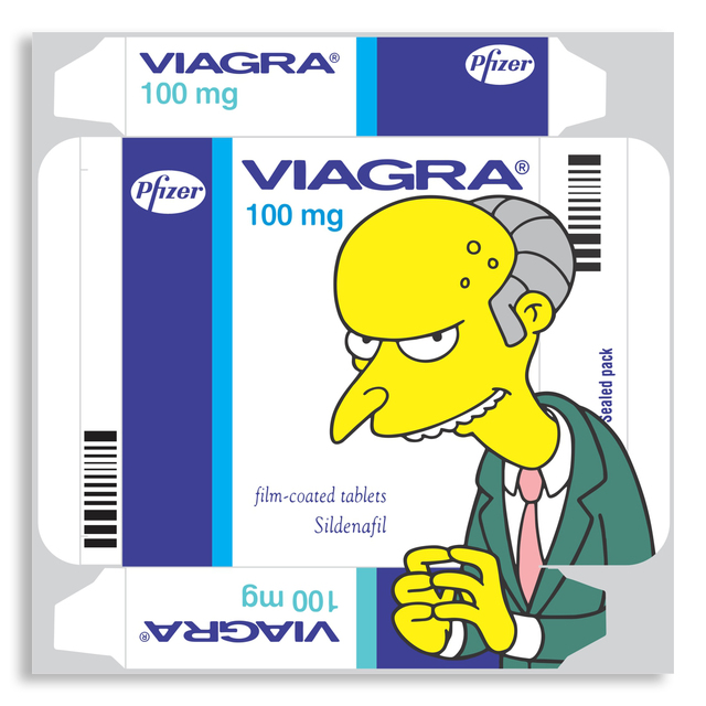 , 'Viagra Burns,' 2015, StolenSpace Gallery