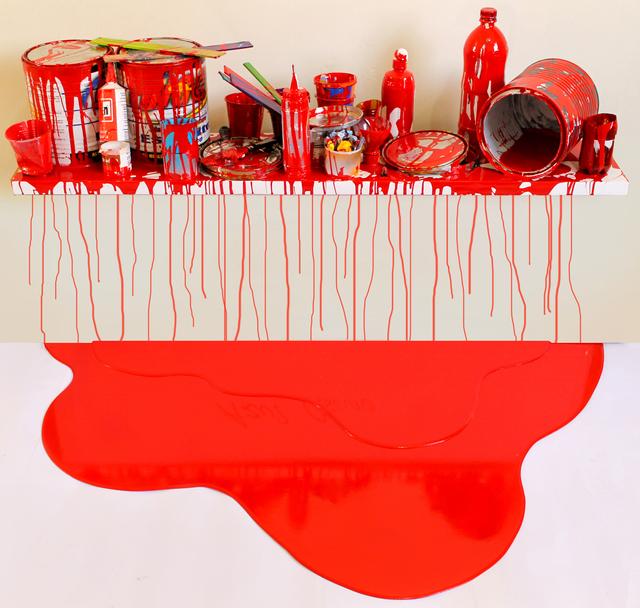 , 'Escenario Rojo (1),' 2014, Galeria El Museo
