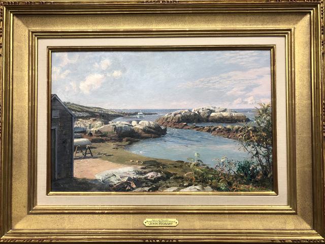 , 'Isle of Shoals Babb's Cove Appledore Island,' , Eisele Gallery of Fine Art