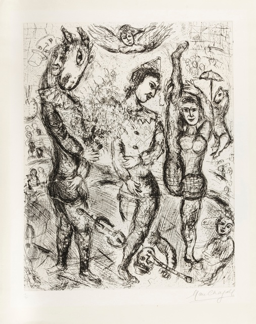 Marc Chagall, 'Le Pierrot (Cramer 34)', 1968, Forum Auctions
