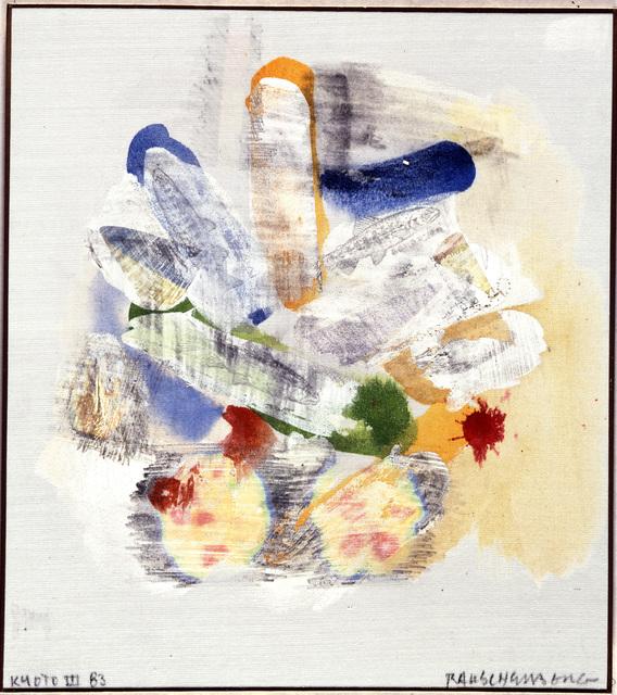 , 'Kyoto III,' 1983, Academy Art Museum