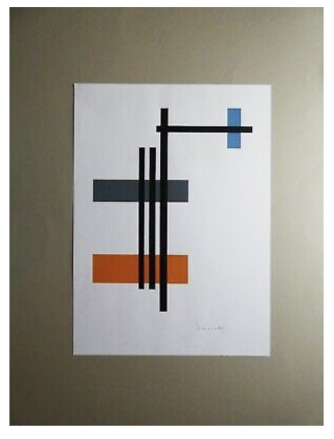 Lajos Von Ebneth, 'Untitled', 1970, Print, Silkscreen on Paper, iMuseum Vegas