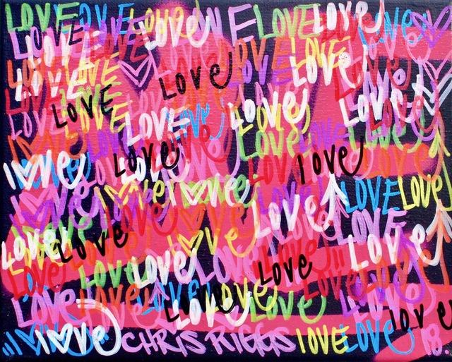 , 'Love Canvas 3,' 2018, Open Mind Art Space