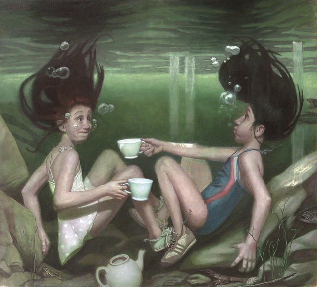 , 'Tea Party,' , Dowling Walsh