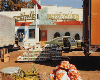 Stephen Shore, 'U.S. 10, Post Falls, Idaho, August 25, 1974,' 1974, Phillips: The Odyssey of Collecting