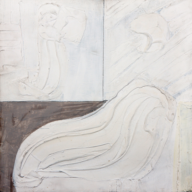 , 'White relief (1965/2),' 1965, ART+TEXT Budapest