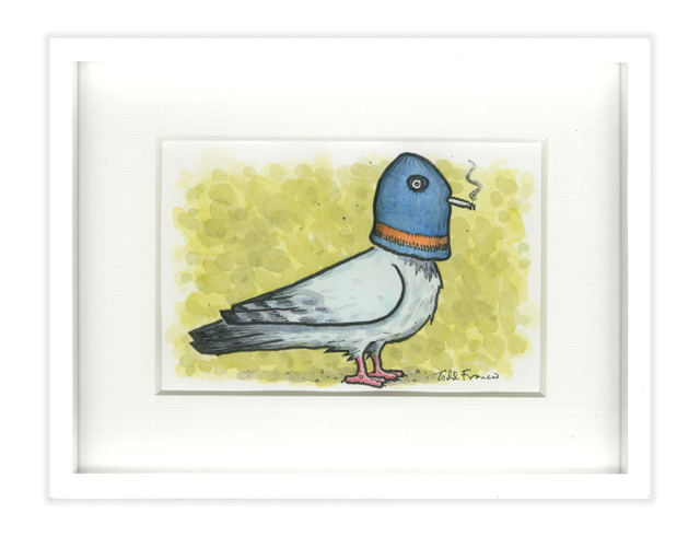 Todd Francis, 'SMALL PIGEON PAINTING', 2017, Subliminal Projects