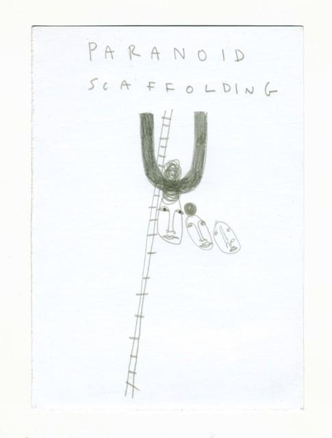 , 'μg, paranoid scaffolding,' 2019, UNION Gallery