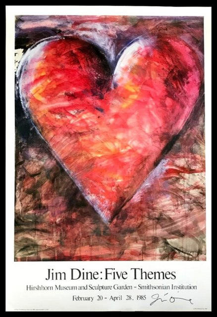 Jim Dine, 'Jim Dine: Five Themes (Hand Signed)', 1985, Alpha 137 Gallery