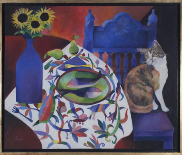 , 'El Gato,' 1998, David Barnett Gallery