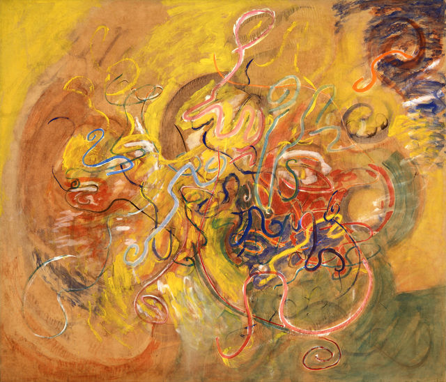 Tancredi, 'Pomeridiano', 1960, Painting, Tempera on paper laid on canvas, ML Fine Art