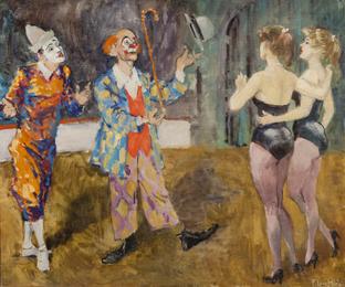 Untitled (Circus Scene)