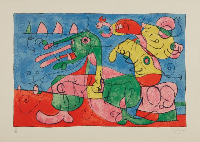 Joan Miró, 'Suites pour Ubu Roi: plate 8', 1966, Phillips