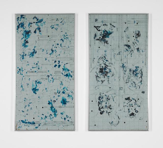 , 'Hakai no Kyokuritsu A, B(Curvature of destruction),' 1962, SCAI The Bathhouse