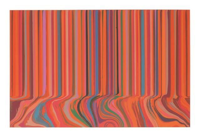 , 'Colourcade Buzz: Red and Orange Mirrored,' 2017, Alan Cristea Gallery