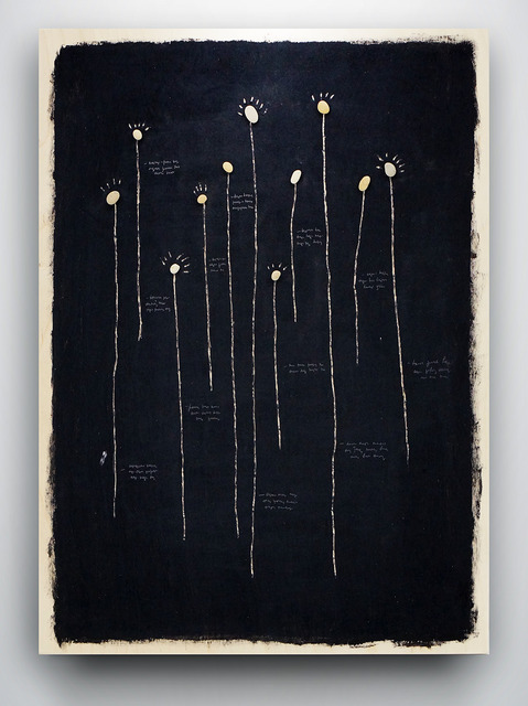 , 'Separated mycelium's particles,' , Fragment Gallery