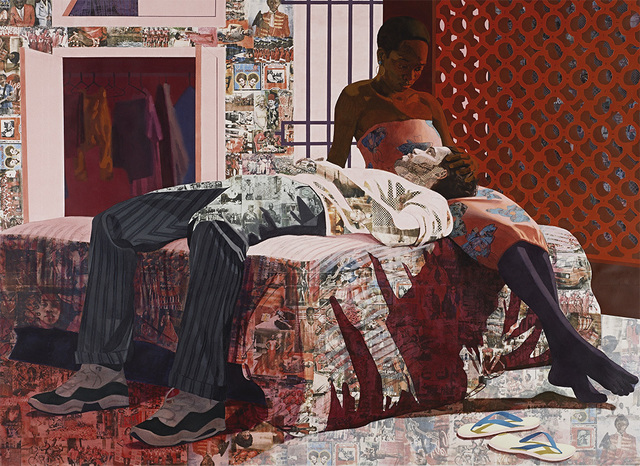 Njideka Akunyili Crosby, 'Nwantinti', 2012, The Studio Museum in Harlem