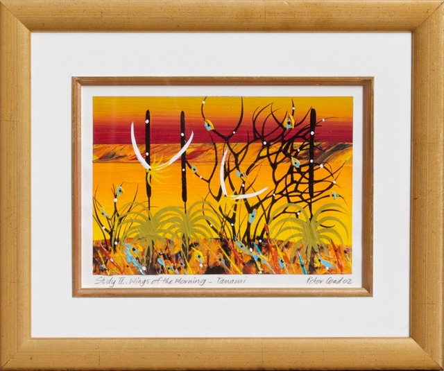 Peter Coad, 'Study - Wings of the morning Tanamai' Mixed media  $2,100', 2013-2014, Wentworth Galleries
