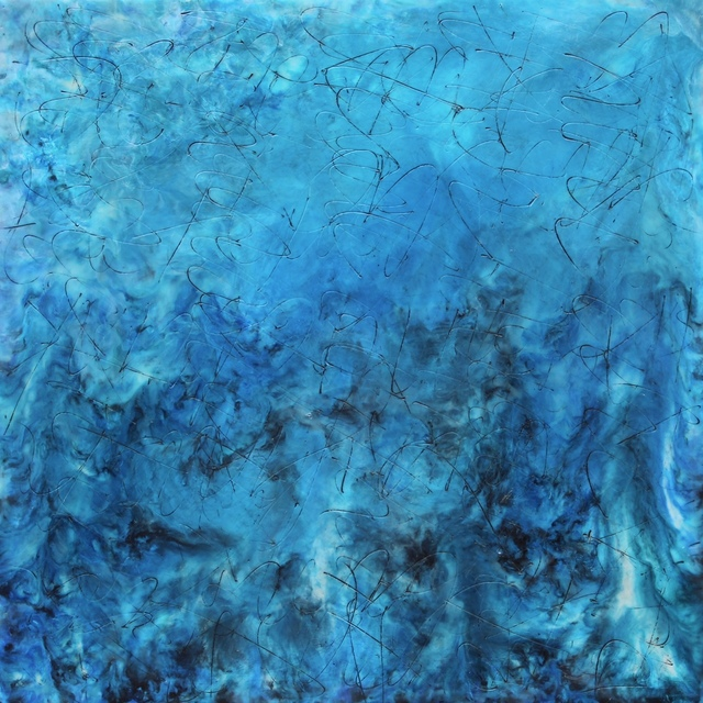 , 'Blue Turmoil,' , InLiquid