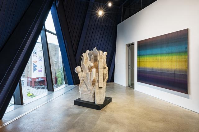 , 'Library V-V,' 2017-2018, Lehmann Maupin