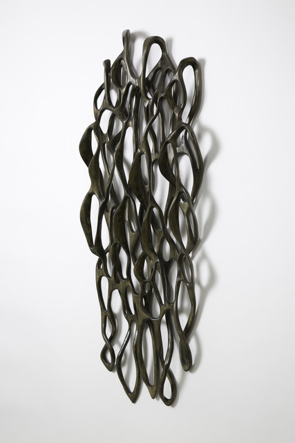 Caprice Pierucci, 'Charcoal Delicate with Loose Loops', 2018, Diehl Gallery