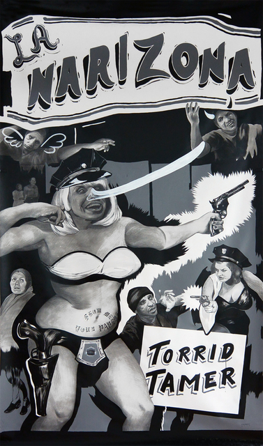 , 'La Narizona,' 2013, Luis De Jesus Los Angeles