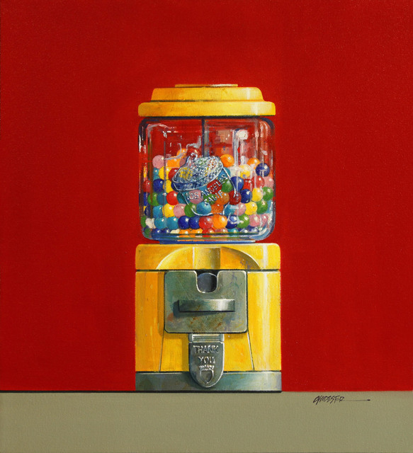 Wendy Chidester, 'Acorn Gum Ball Machine', 2019, CODA Gallery
