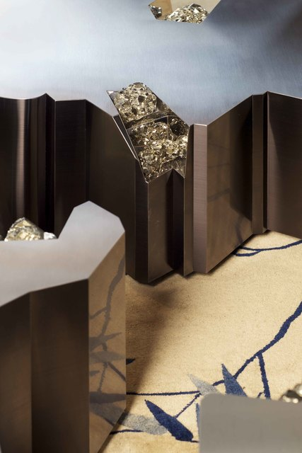 , 'Table Pyrite / Pyrite Table,' 2012, Demisch Danant