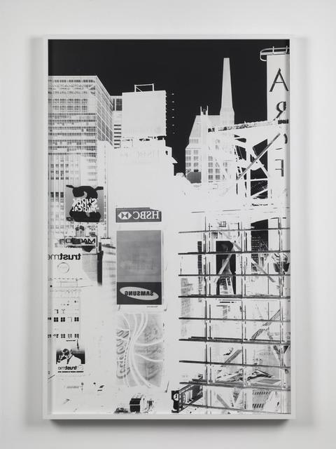 , 'Times Square, New York, XIII: September 7, 2007,' 2007, Alfonso Artiaco