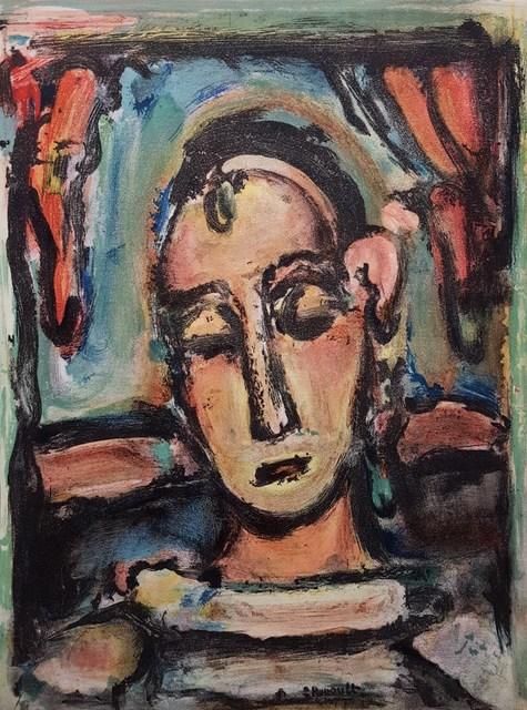Georges Rouault, 'Tete de Jeune Fille', 1939, Graves International Art