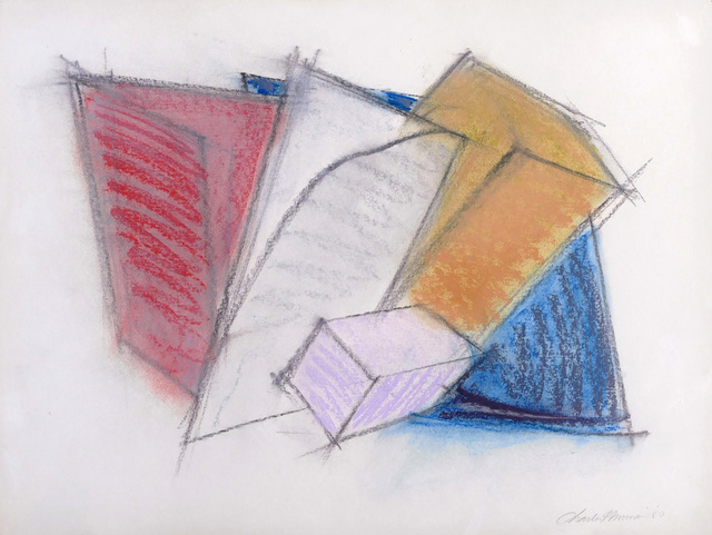 , 'Untitled Minimalist Drawing (Geometric Abstraction),' 1980, Alpha 137 Gallery