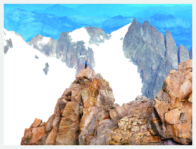 , 'Alps, Geographies and People #11,' 2013, Yancey Richardson Gallery