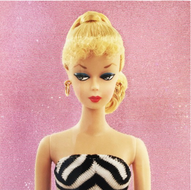 , 'Solid Glam Barbie #1,' , Art Angels