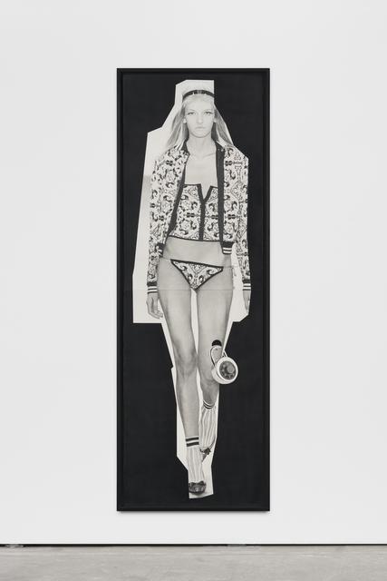 , 'paper doll 1,' 2016, Wentrup