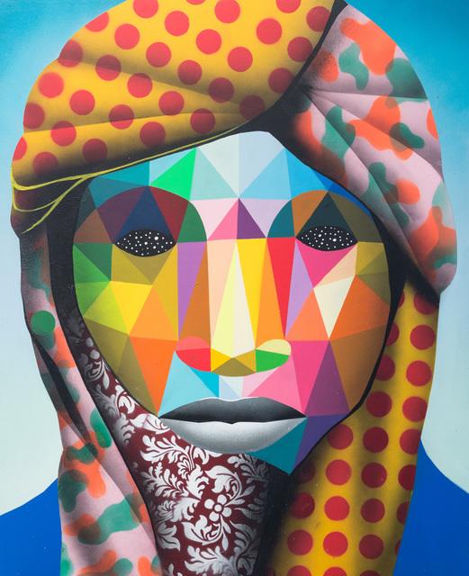 Okuda San Miguel, 'Lost Refugee 3', 2016, Underdogs Gallery