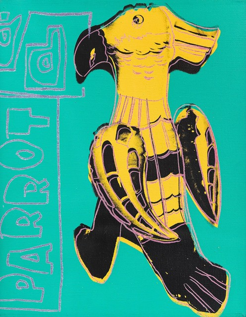 Andy Warhol, 'Parrot (Toy Paintings)', 1983, CFHILL