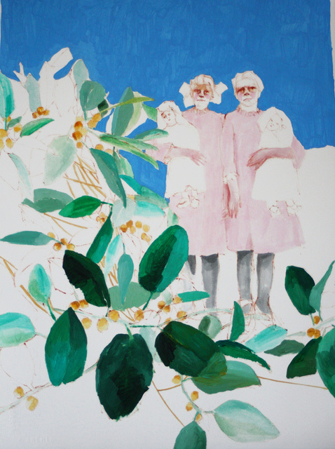 , 'valiente in holland park  friends,' 2015, Yiri Arts