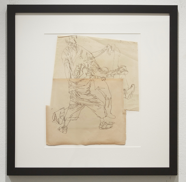, 'Life Wants to Live (Study 16),' 2014, Jonathan LeVine Projects