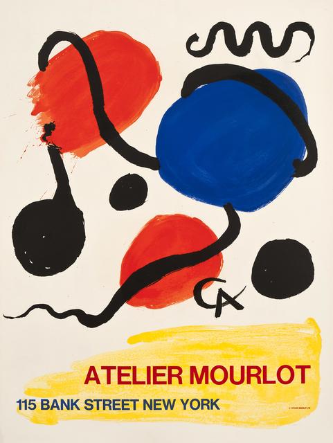 Alexander Calder, 'Atelier Mourlot, Bank Street, New York', 1967, Zuleika Gallery