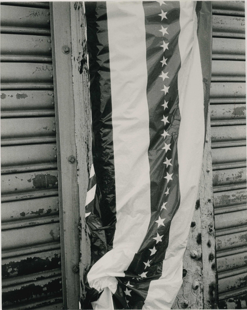 Andy Warhol, 'Andy Warhol, Photograph of a Stars and Stripes Banner, 1986', 1986, Hedges Projects