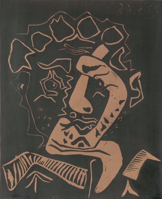 Pablo Picasso, 'Tête d'histrion (Le danseur)', 1965, Skinner